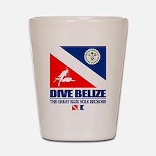 Dive Belize Shot Glass