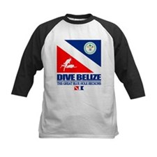 Dive Belize Baseball Jersey