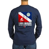 Belize scuba diving Long Sleeve T Shirts