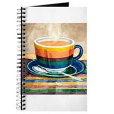 Rainbow Cafe Cup Journal