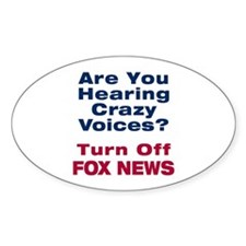 Turn Off Fox News Decal