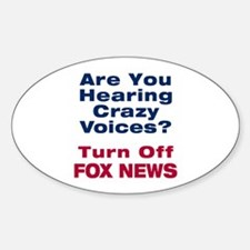 Turn Off Fox News Decal