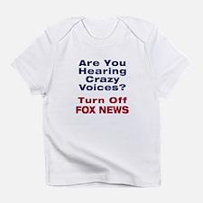 Turn Off Fox News Infant T-Shirt