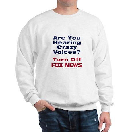 Turn Off Fox News Sweatshirt