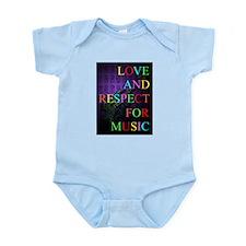 KuuMa Guitar Love 05 Infant Bodysuit