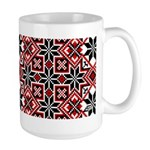 Folk Design 8 Large Mug