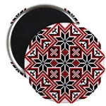 "Folk Design 8 2.25"" Magnet (10 pack)"