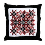 Folk Design 8 Throw Pillow
