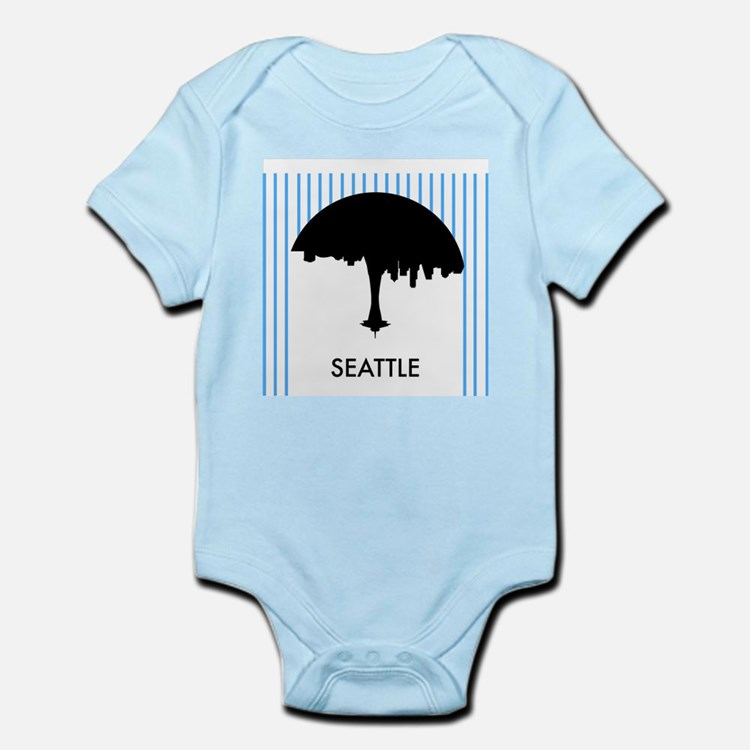 Seattle City Logo Body Suit