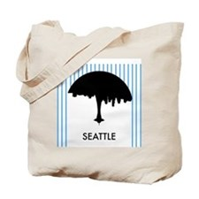 Seattle City Logo Tote Bag
