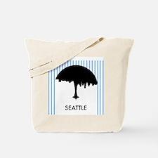 Seattle City Logo Tote Bag