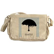 Seattle City Logo Messenger Bag