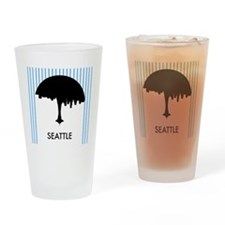 Seattle City Logo Drinking Glass