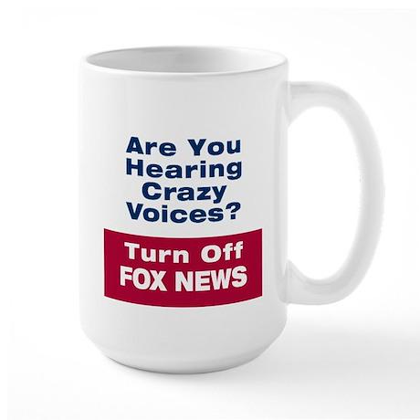 Turn Off Fox News Mug