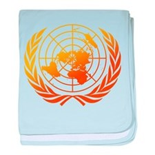 United Nations 2 baby blanket