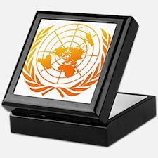 United Nations 2 Keepsake Box