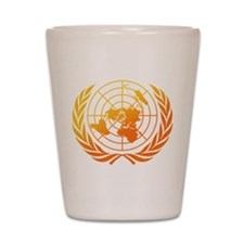 United Nations 2 Shot Glass
