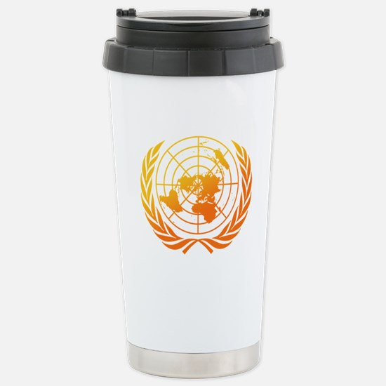 United Nations 2 Stainless Steel Travel Mug