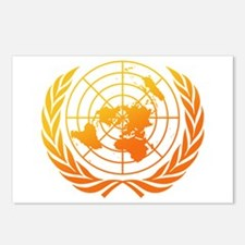 United Nations 2 Postcards (Package of 8)