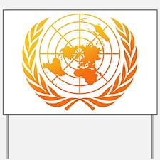 United Nations 2 Yard Sign
