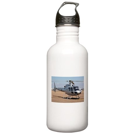 Helicopter (silver) Water Bottle