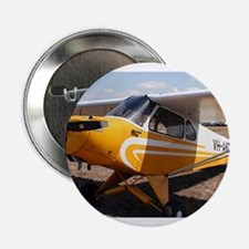 "Piper Cub Aircraft (yellow & white) 2.25"" Button"