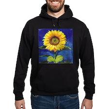 Solitary Sunflower Hoodie