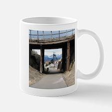 Butte, MT Under the Bridge Gallow Frame Mug