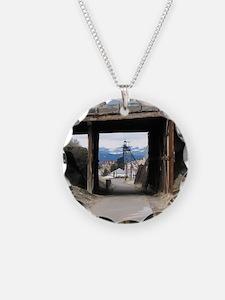 Butte, MT Under the Bridge Gallow Frame Necklace