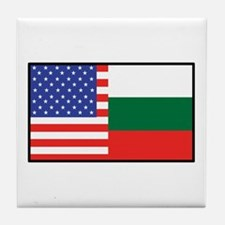USA/Bulgaria Tile Coaster