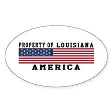 Property of Louisiana Decal