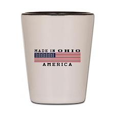 Made In Ohio Shot Glass