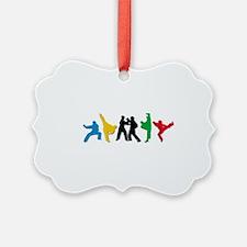 Tae Kwon Do Kicks Ornament