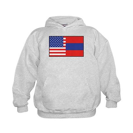 USA/Armenia Kids Hoodie