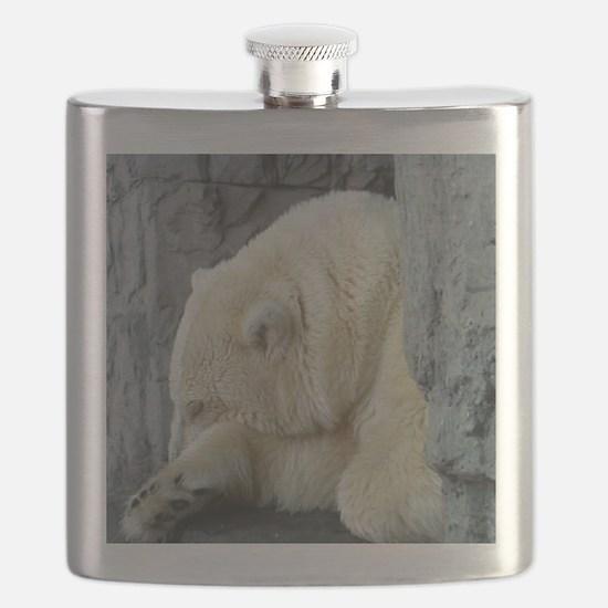 Central Park Zoo Polar Bear Flask