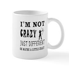 I'm not Crazy just different Archery Mug