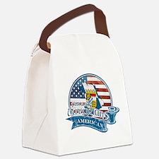 Proud Bavarian American Canvas Lunch Bag