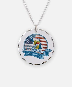 Proud Bavarian American Necklace