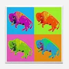 Warhol Buffalo Tile Coaster