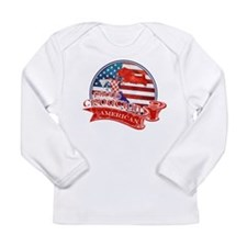 Proud Croatian American Long Sleeve T-Shirt