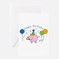 BoyHappyBirthday Greeting Cards