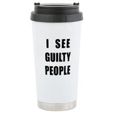 Cute Police officer humor Travel Mug