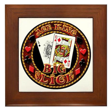 Big Slick Framed Tile