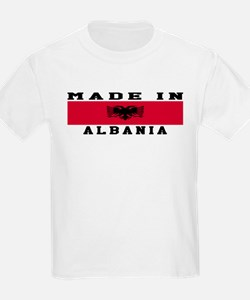 Albania Made In T-Shirt