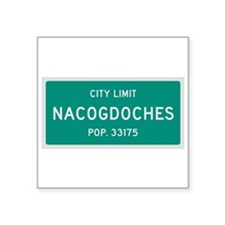 Nacogdoches, Texas City Limits Sticker
