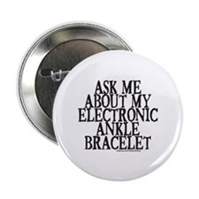 """ELECTRONIC ANKLE BRACELET 2.25"""" Button (10 pack)"""