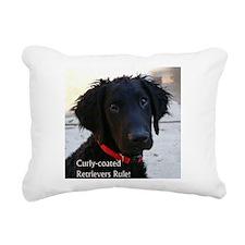 Cute Curly Rectangular Canvas Pillow