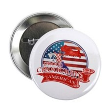 "Proud Croatian American 2.25"" Button (100 pack)"