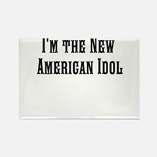 The American Idol Rectangle Magnet