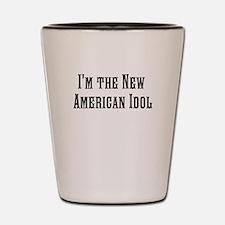 The American Idol Shot Glass